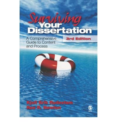 [Surviving Your Dissertation: A Comprehensive Guide to Content and Process (Surviving Your Dissertat