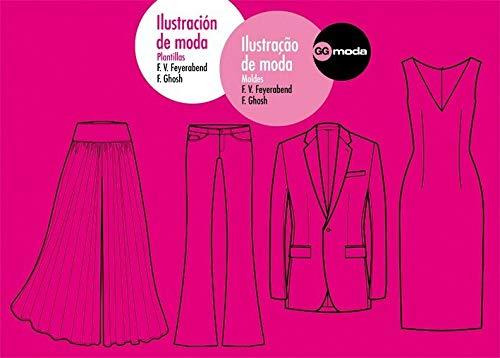 Ilustración de moda. Ilustraçao de moda: Plantillas. Moldes (GGmoda)