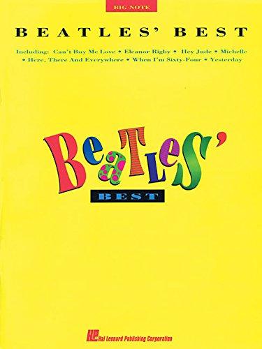 The Beatles: Best (Big Note Piano): Songbook für Klavier