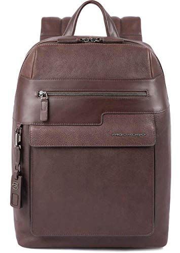 Piquadro - Medium Size, Computer Backpack Wostok - Ca4115w95, Testa di Moro
