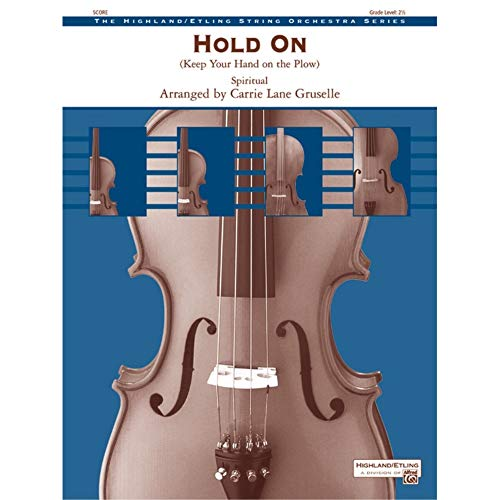 Alfred 00-31594 Hold On-Mantenga la mano en el arado - Music Book