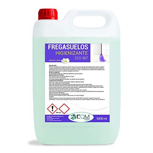 Ecosoluciones Químicas ECO- 907 | Fregasuelos Profesional con Acción Bactericida | 5 Litros | AROMA FLORA/FRUTOS ROJOS | Somos fabricantes, Calidad asegurada (FLORAL)
