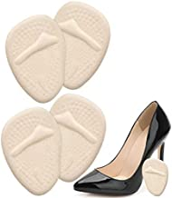 Metatarsal Pads for Women - 2 Pairs, Universal Ball of Foot Cushions All Day Pain Relief and Comfort One Size Fits Shoe Inserts for Women