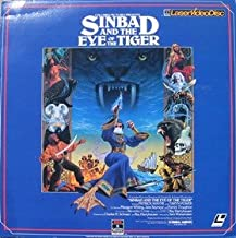 Sinbad And The eye Of The Tiger LASERDISC (NOT A DVD!!!) (Full Screen Format) Format: Laserdisc