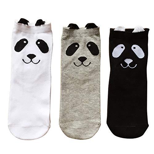 Calcetines de algodón cálidos, bonitos y divertidos, regalo perfecto para mujeres y hombres.