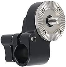 NICEYRIG Rosette Mount ARRI M6 Threaded to 15mm Single Rod Clamp for DSLR Camera Rig Railblock Support System - 428