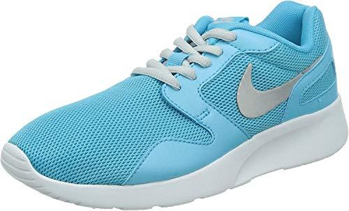 Nike Kaishi, Damen Laufschuhe, Blau (Clearwater/Mtlc Platinum-White 401), 36.5 EU