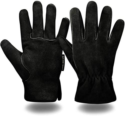COREGROUND Work safety Gloves Insulated General Utility Leather Glove Extra Grip Flexible Working product image