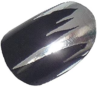 Chix Nails Ocasional Minx Trendy Style - Adhesivos de vinilo para uñas, diseño de pies, diseño navideño