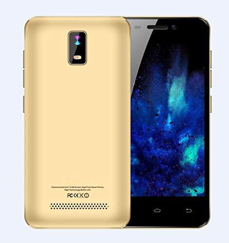 """TEENO 4.0"""" Ecran Telefonos Moviles Libres Baratos 1GB+8GB - 4G/WiFi - Dual SIM Dual Camera (Oro)"""