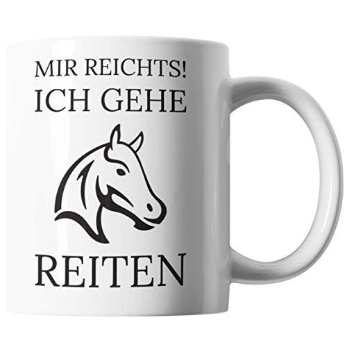Pferdetasse Mit Spruch | Geschenkidee Pferde liebe | Frauen & Mädchen Pferde Geschenk