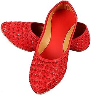 Family Fashion MART Women's Makkhi-Belly-Red (S.NO-49)