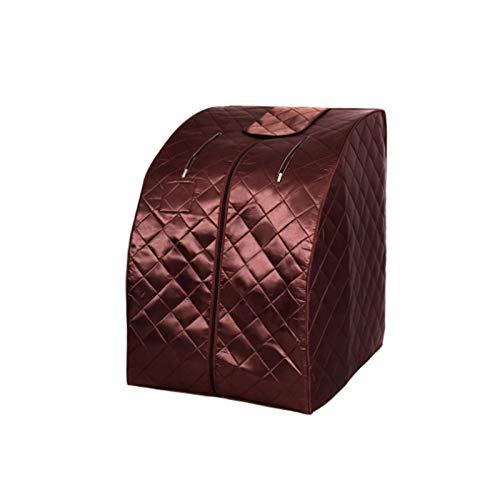 Upupto Sauna Zimmer Infrarot Sauna Abnehmen Negativ Ion Detox Therapie Persönliche Tanne Sauna Jade Heizfußkissen Klappstuhl