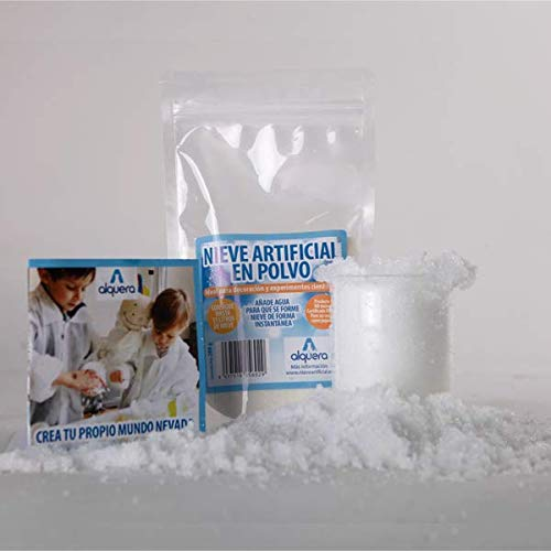 Nieve artificial instantánea (nieve mágica) 200 gramos
