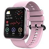 Smartwatch KOSPET 1.71 Zoll Touchscreen Fitness Tracker mit personalisiertem Bildschirm,Echter Blutsauerstofftest,Herzfrequenz,Schlafmonitor,IP68 Wasserdicht Fitness Armbanduhr,für iOS und Android
