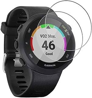 3 X Películas Vidro Temperado Protetora Para Relógio Garmin Forerunner 45 / 45S