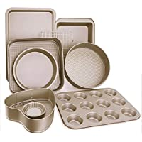 9-Piece Esonmus Nonstick Carbon Steel Bakeware Set
