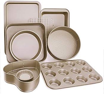 9-Piece Esonmus Nonstick Carbon Steel Bakeware Set