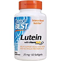 60 Softgels Doctor's Gluten Free Best Lutein with FloraGLO