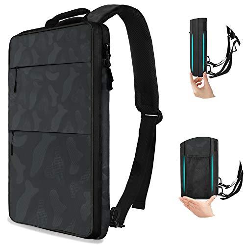 ZINZ Laptop Tasche Hülle 15,6 Zoll, Ultraflache Erweiterbare 150% Laptop Rucksack für 13