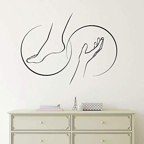 Adesivi murali decalcomanie artistiche fai-da-te massaggio...