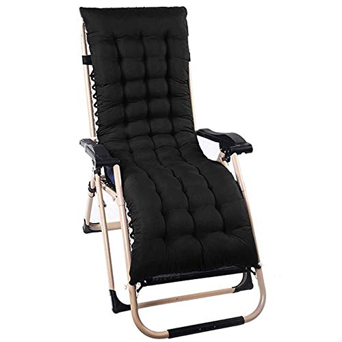 MXueei Sun Lounger kussen vervanging klassieke pads Patio Garden Deck stoel Recliner Lounge Dikke Pad Outdoor Topper Relaxer zithoezen