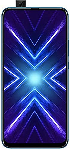 HONOR 9X Phantom Blue - Smartphone Bundle (6,59 Zoll Display, 128 + 4 GB) + 48MP AI Triple-Kamera + 16MP Pop-up Frontkamera + gratis HONOR Classic Earphones  Exklusiv bei Amazon] - Deutsche Version