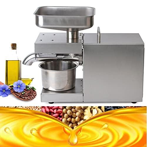 Squeezer - Pressa olio per macchina commerciale antiruggine, estrattore automatico da 600 W