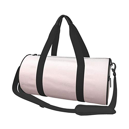 Bolsa de deporte para gimnasio, ligera, potable, bolsa de lona para el hombro, Pantone, cuarzo rosa, gradiente de gran capacidad, deportes, viajes, bolsa multifunción, bolsa de gimnasio
