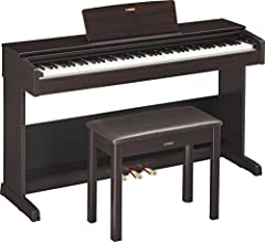 "Your purchase includes One Yamaha Arius Series, YDP103 model | Bench, Owner's manual & Quick Operation Guide Piano dimensions – 53-7/16"" W x 32-1/16"" H x 16-5/8"" 
