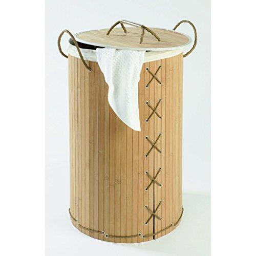 WENKO Wäschetruhe Bamboo