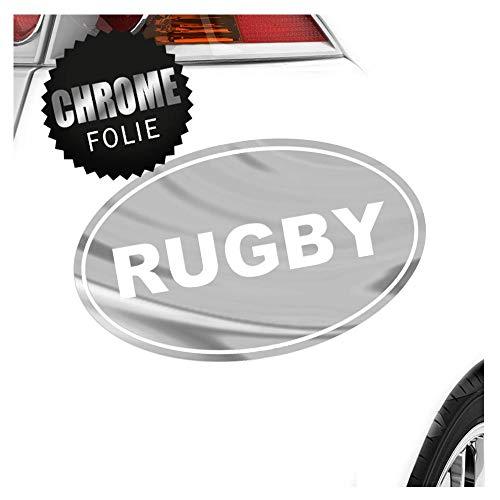 Kiwistar Rugby 18 x 11 cm IN 15 Farben - Neon + Chrom! Sticker Aufkleber