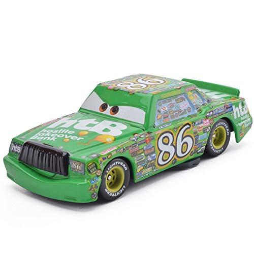 Generic Disney All Series Disney Pixar Cars 3 Metal Car Toy Lightning McQueen Black Storm Jackson Model Fire Truck School Bus Car Boy Toy Gift 27