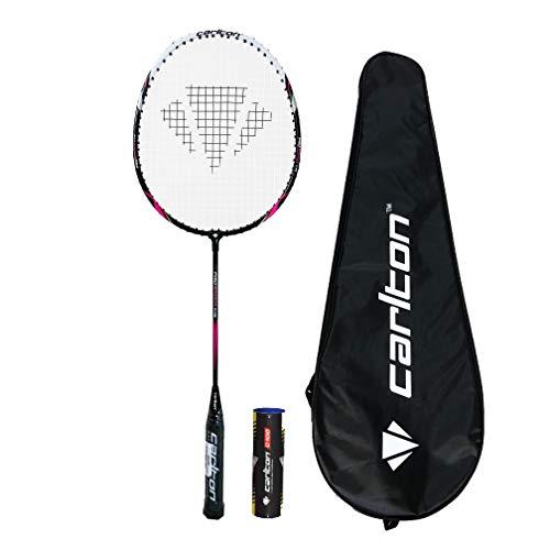 Carlton Serie de Raquetas de bádminton Pro Funda y 6 lanzaderas (Pro Shock)