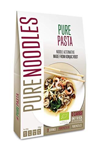 PurePasta Bio - Konjakpasta - Spaghetti, Nudeln, Reis, Fettuccine - Paket mit 10 (Nudeln)