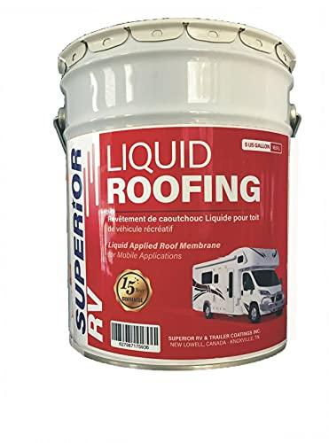 Superior RV Liquid Rubber Roof Coating 5 Gallon