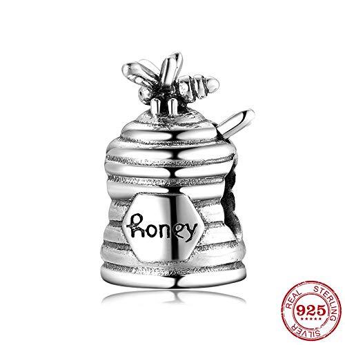 DASFF 925 Sterling Zilver Zoete Honing Met Bijen Kralen fit Originele Bedel Armbanden Fijne Sieraden Maken