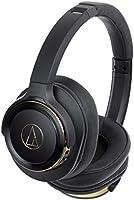 audio-technica SOLID BASS ワイヤレスヘッドホン 重低音 最大40時間再生 ブラックゴールド ATH-WS660BT BGD