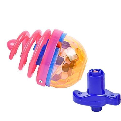 Find Discount Believe in yourself 1PC Flashing Rotating Spinning Toy with LED Light and Music Dazzli...