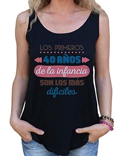 latostadora - Camiseta los Primeros 40 para Mujer