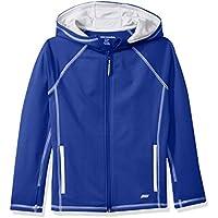 Amazon Essentials Full-Zip Active Jacket, outerwear-jackets Niños, Azul, M (Talla fabricante: 8)