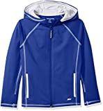 Amazon Essentials Full-Zip Active Jacket, outerwear-jackets Niños, Azul, XL (Talla fabricante: 12)