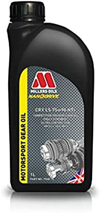 Millers Oils CRX 75w90 NT  Fully Synthetic Competition Transmission Oil  Litre