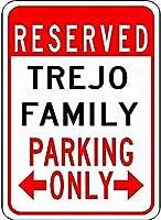 金属サイントレント家族駐車ノベルティスズストリートサイン