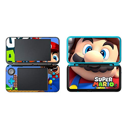 BLOUR Super Mario Decal Skin Sticker Cover für neuen 2DS LL XL Skin Sticker für Nintendo 2DSLL Vinyl Skin Sticker Protector