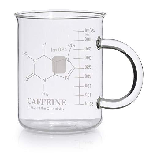 Caffeine Molecule Mug for Science Teachers