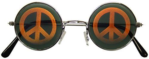 Hologramm-Brille, 'Peace'-Zeichen