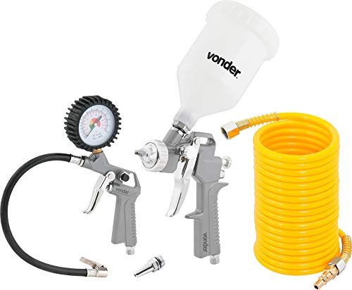 Jogo de acessórios para compressor, com 4 peças, ACV 400, Vonder