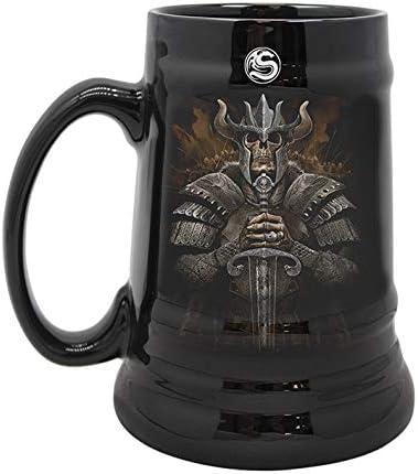 Japan Maker New Detroit Mall wolf-spirit-steins-ceramic-beer-mug-gift-boxed