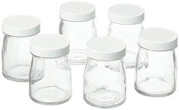 Cuisinart Accessoires Lot de 6 pots Yaourts 125 mL pour YM400E